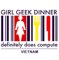 Vietnam Girl Geek Dinners logo