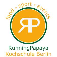 Running Papaya Kochschule Berlin logo