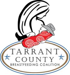 Tarrant County Breastfeeding Coalition in cooperation with John Peter Smith Hospital, Medical City Arlington Hospital, Tarrant County Public Health and the Mother's Milk Bank of North Texas logo