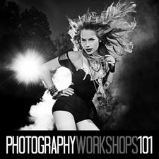 Photography Workshops 101 instructor Top Fashion Photographer Shaun Alexander logo