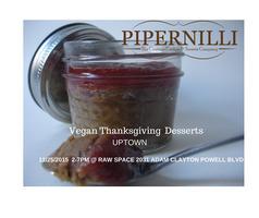 Vegan Thanksgiving Desserts Uptown