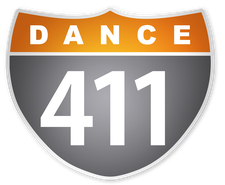 * Dance-Fitness Classes @ Dance 411 * logo