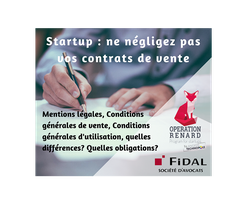 Startup : ne négligez pas vos contrats de vente