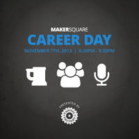 MakerSquare Career Day - Fall 2013 Cohort