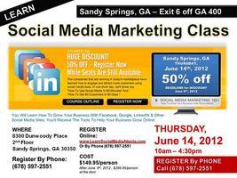 Social Media Marketing 101 Atlanta, GA (1-Day Class)...