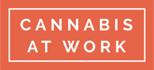 This event is hosted by Cannabis At Work logo