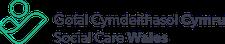 Social Care Wales / Gofal Cymdeithasol Cymru logo