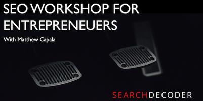 SEO Workshop for Entrepreneurs and Startups