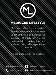 Mediocre Lifestyle logo