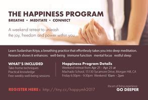 Happiness Program - A Weekend Retreat in Morgan Hill