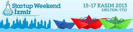 Startup Weekend İzmir - 15-17 Kasım 2013