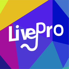 LivePro音乐现场 logo