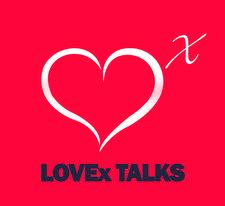 LOVEx TALKS logo