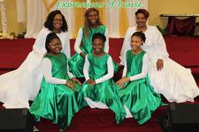 Expressions of Praise Dance Ministry logo