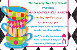 The Learning Tree Mommy-Daughter Mad Hatter Tea Party