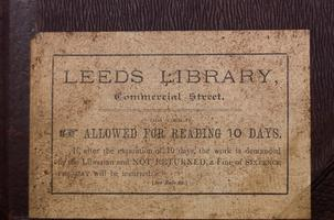 The Leeds Library - Gems from the 1768 Collection