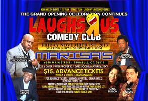 THE GRAND OPENING of LAUGHS Я US COMEDY CLUB -...