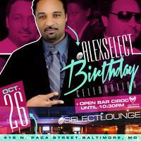 @ALEXSELECT BIRTHDAY #SelectSaturdays @SELECTLOUNGE...