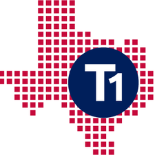 T1 Texas logo
