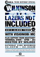 Wilkinson & Visionobi MC - 'Lazers Not Included' Album...