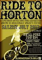 Sponsored Bike Ride: Manchester to Horton in...