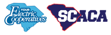 The Electric Cooperatives of South Carolina & the S.C. Athletic Coaches Association logo