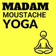 Madam Moustache Yoga  logo