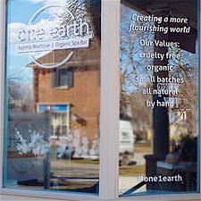 One Earth, delivering the world to your doorstep logo