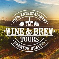 100% Wine & Brew Tours logo