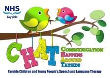NHS Tayside Children and Young People's Speech and Language Therapy logo