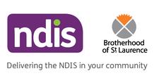 The Brotherhood of St Laurence NDIS  logo
