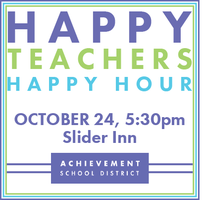 HAPPY TEACHERS, HAPPY HOUR: Become a Builder of the...
