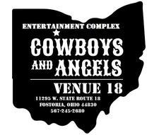 Cowboys & Angels/Venue 18 Entertainment Complex logo
