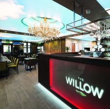The Willow Health Restaurant & Bar logo