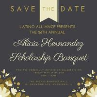 26th Annual Alicia Hernandez Scholarship Banquet