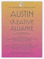 Austin Creative Alliance Celebration