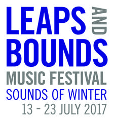 Leaps and Bounds Music Festival logo