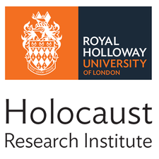 The Holocaust Research Institute, Royal Holloway, University of London logo