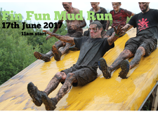 Fin Fun Mud Run logo