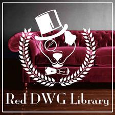 Red DWG Library logo