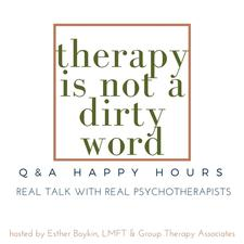 Therapy Is Not A Dirty Word logo