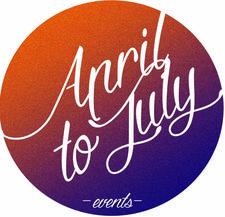 April to July logo