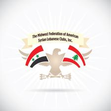 The Midwest Federation of American Syrian Lebanese Clubs, Inc. logo