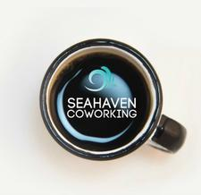 Seahaven Coworking/She Can Networking logo