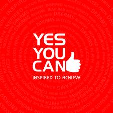 YES YOU CAN INSPIRED TO ACHIEVE EVENTS - With Bradley Chapman logo