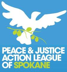 Peace and Justice Action League of Spokane logo