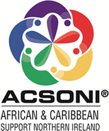 African & Caribbean Support Organisation NI (ACSONI)  with  Tunmicro SickleCell Foundation  logo