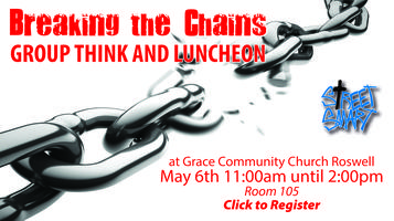 Breaking the Chains Groupthink & Luncheon