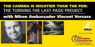 The Turning the Last Page Project with Nikon Ambassador...