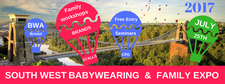 The Southwest Babywearing & Family EXPO  logo